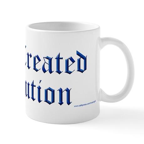 God Created Evolution #1 Mug