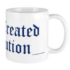 God Created Evolution #1 Mug