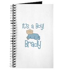 Brady's - It's a Boy Journal