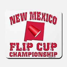 New Mexico UNM Flip Cup Mousepad