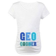 Geocacher Arrows Blue Shirt