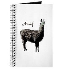 Llamas Journal