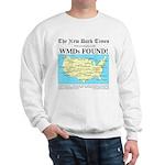 WMD Map Sweatshirt