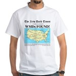 WMD Map White T-Shirt
