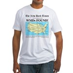 WMD Map Fitted T-Shirt