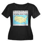 WMD Map Women's Plus Size Scoop Neck Dark T-Shirt
