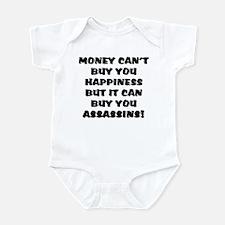 money can't buy happy, but it Infant Bodysuit