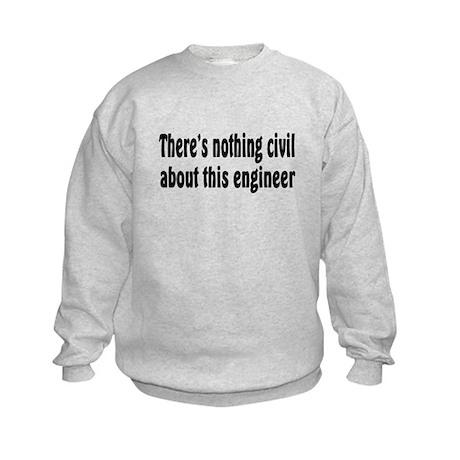 Civil Engineer Kids Sweatshirt