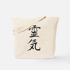 Reiki Kanji Tote Bag