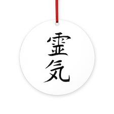 Reiki Kanji Ornament (Round)