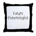 Future Potamologist Throw Pillow