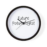 Future Potamologist Wall Clock