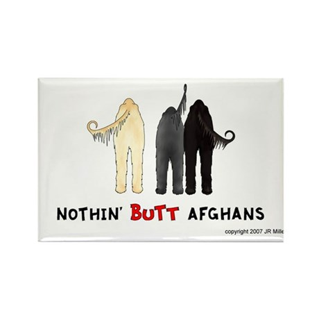 Nothin' Butt Afghans Rectangle Magnet (10 pack)