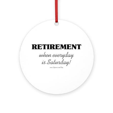 Retirement Weekend Ornament (Round)