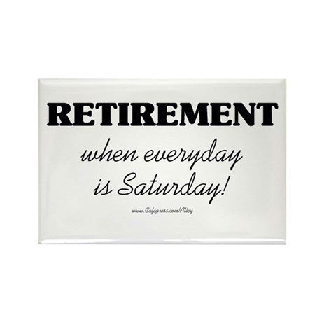 Retirement Weekend Rectangle Magnet