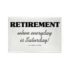 Retirement Weekend Rectangle Magnet (10 pack)