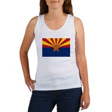 """Arizona State Flag"" Women's Tank Top"