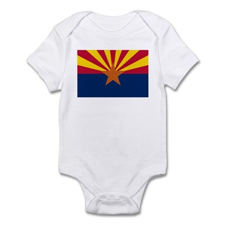 """Arizona State Flag"" Infant Bodysuit"