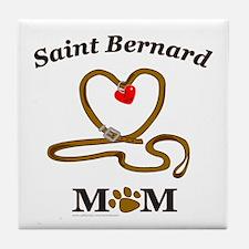 SAINT BERNARD Tile Coaster