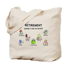 Retirement Love Tote Bag