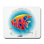Peace Under the Sea Mousepad
