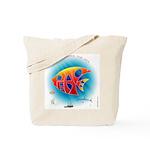 Peace Under the Sea Tote Bag
