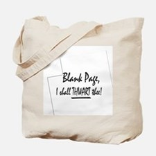Blank Page Tote Bag