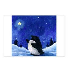 Winter Penguin Postcards (Package of 8)