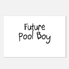 Future Pool Boy Postcards (Package of 8)