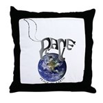 Peace On Earth (Cat) Throw Pillow