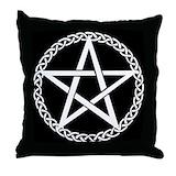 Pentagram Throw Pillows