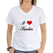 I Love Sweden Shirt