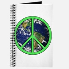 Earth Peace Symbol Journal