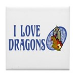 Dragon Tile Coaster