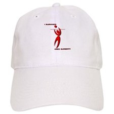 Cute Volleyball christmas Baseball Cap