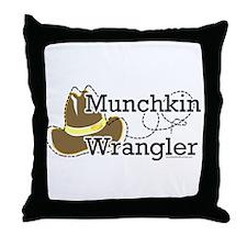 Munchkin Wrangler Throw Pillow