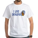 Dragon White T-Shirt