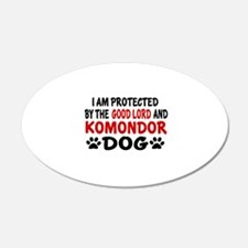 Protected By Komondor Wall Decal