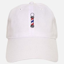 Barber Pole Baseball Baseball Cap