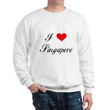 I Love Singapore Sweatshirt
