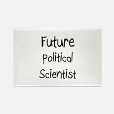 Future Political Scientist Rectangle Magnet