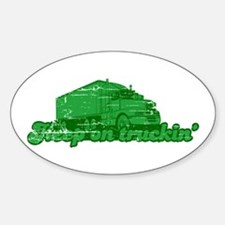 Keep on Truckin' Oval Decal