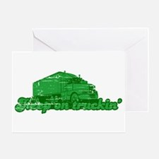Keep on Truckin' Greeting Card