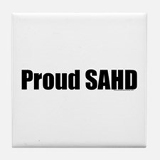 Proud SAHD Tile Coaster