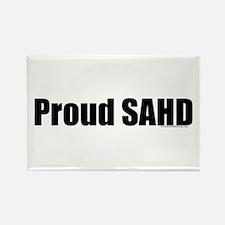 Proud SAHD Rectangle Magnet