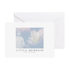 Little Mermaid - The Statue Greeting Card