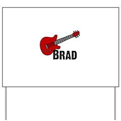 Guitar - Brad Yard Sign