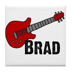 Guitar - Brad Tile Coaster