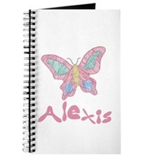 Pink Butterfly Alexis Journal