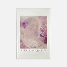 Little Mermaid - Her Garden Rectangle Magnet